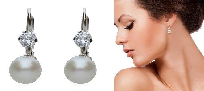 orecchini di Perle