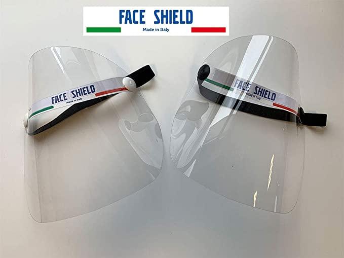 Visiera protezione facciale