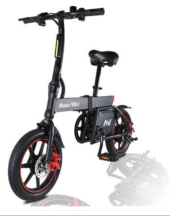 MoovWay Bicicletta Elettrica Pieghevole