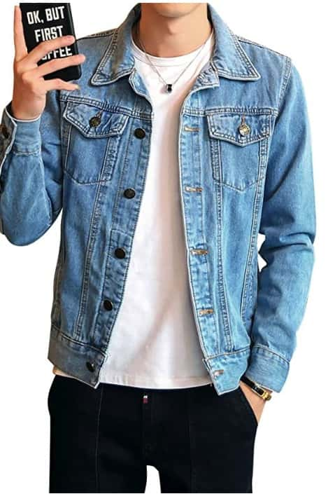 DAIHAN Giacchetto Jeans