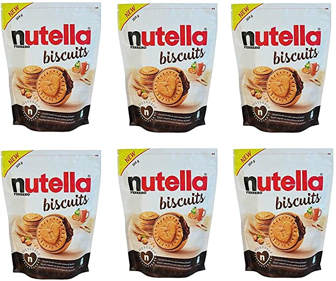 NUTELLA BISCUITS Biscotti ripieni