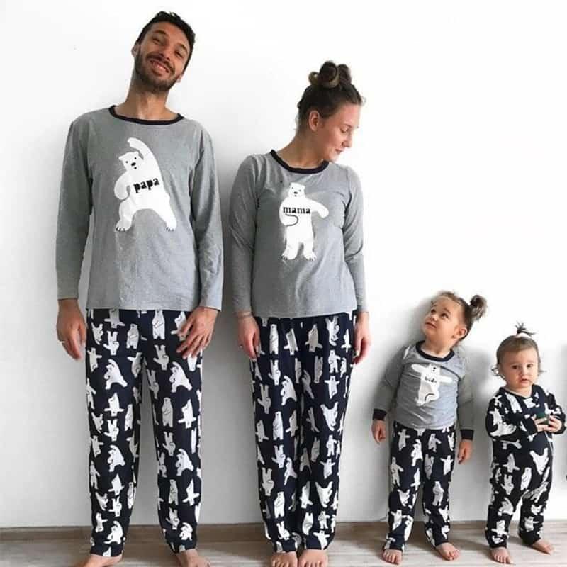 pigiama famiglia
