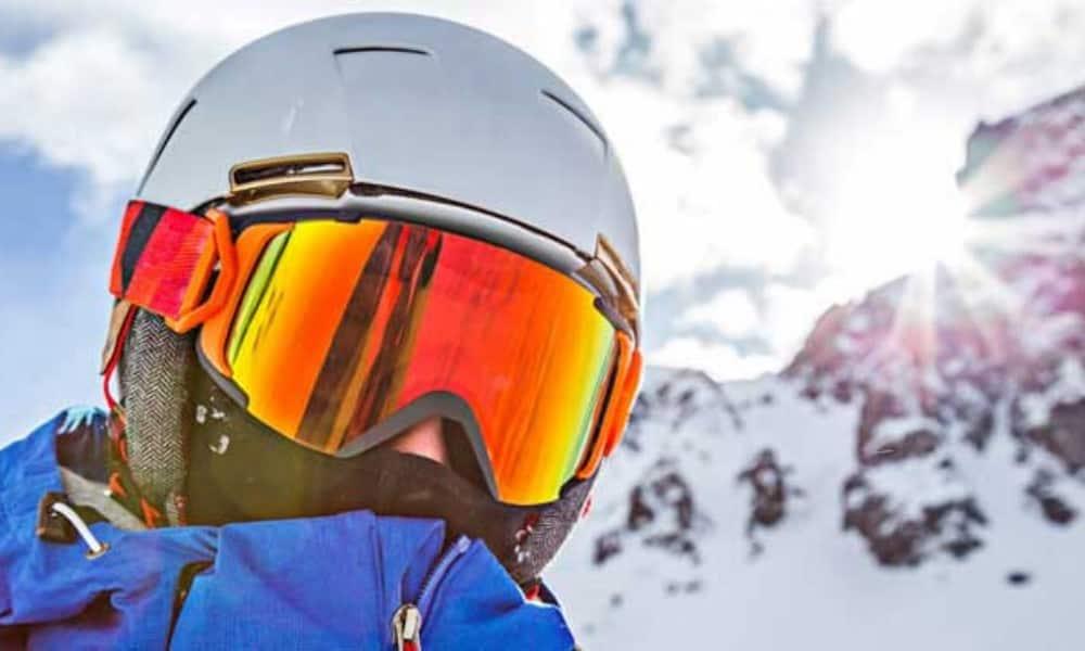 maschera da sci